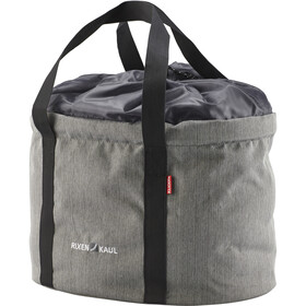 KlickFix Shopper Pro Bike Bag Laukku, grey